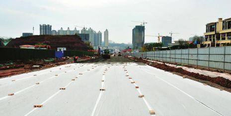 南充:北部新城建大道 全长3.57公里