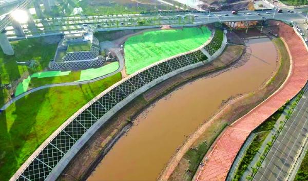 """沿潆溪河、荆溪河两岸打造""""香飘果州""""生态廊道 预计今年8月底竣工"""